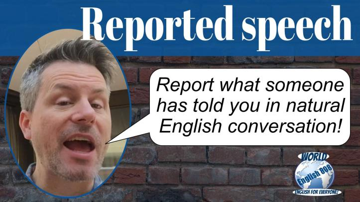 reported speech3