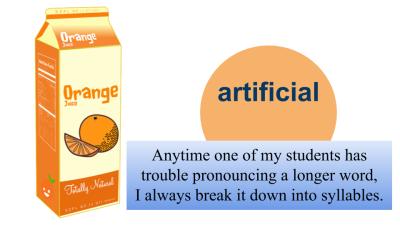 English pronunciation tip
