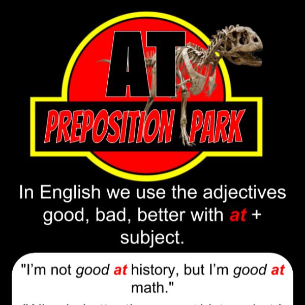 preposition at